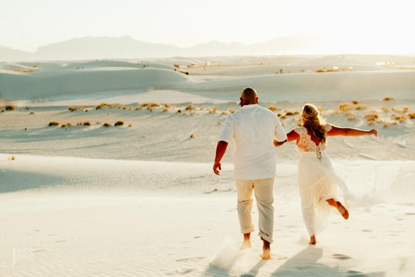 Justin+Alicia+White Sands