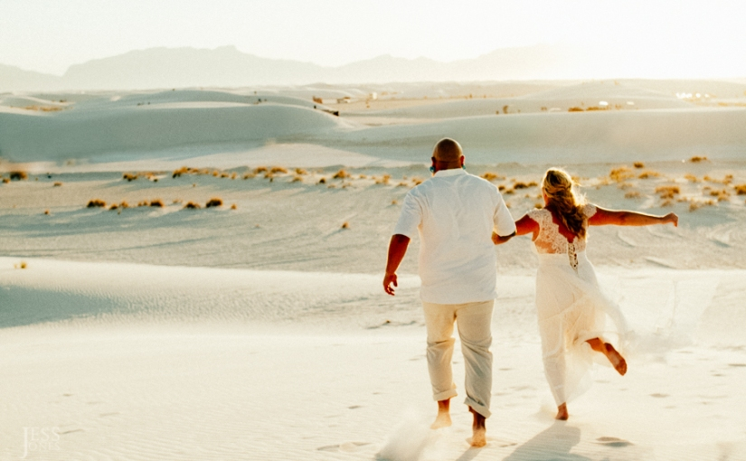 Justin+Alicia+White Sands