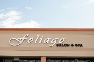 a shot of the foilage salon-1