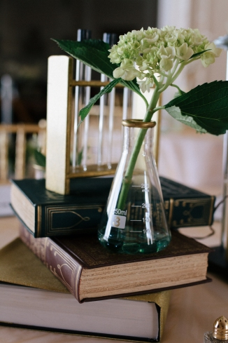 beaker wedding decor-1