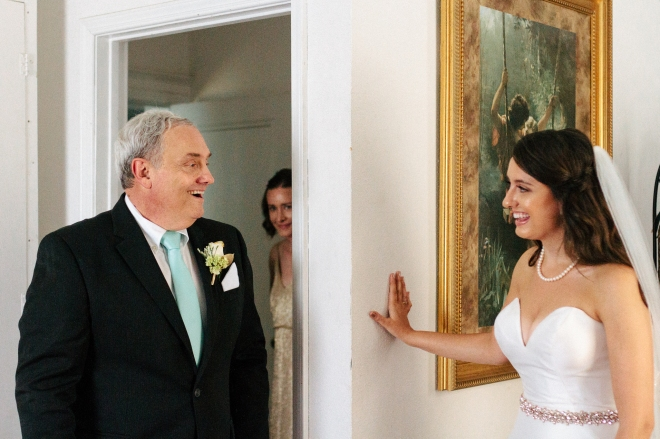 bride's father sees the bride for the first time-1