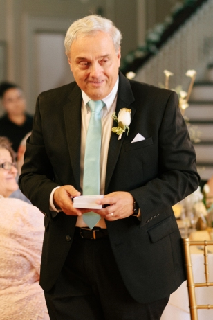 father of the groom gives a toast-1