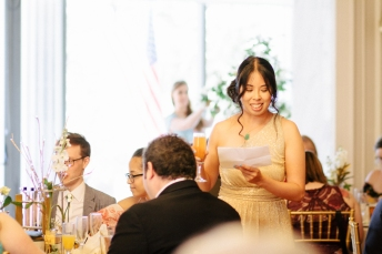 maid of honor gives a toast-1