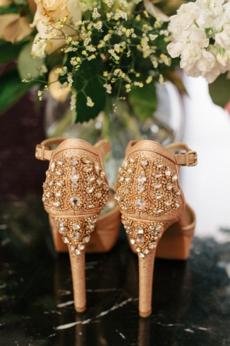the back of wedding shoes-1